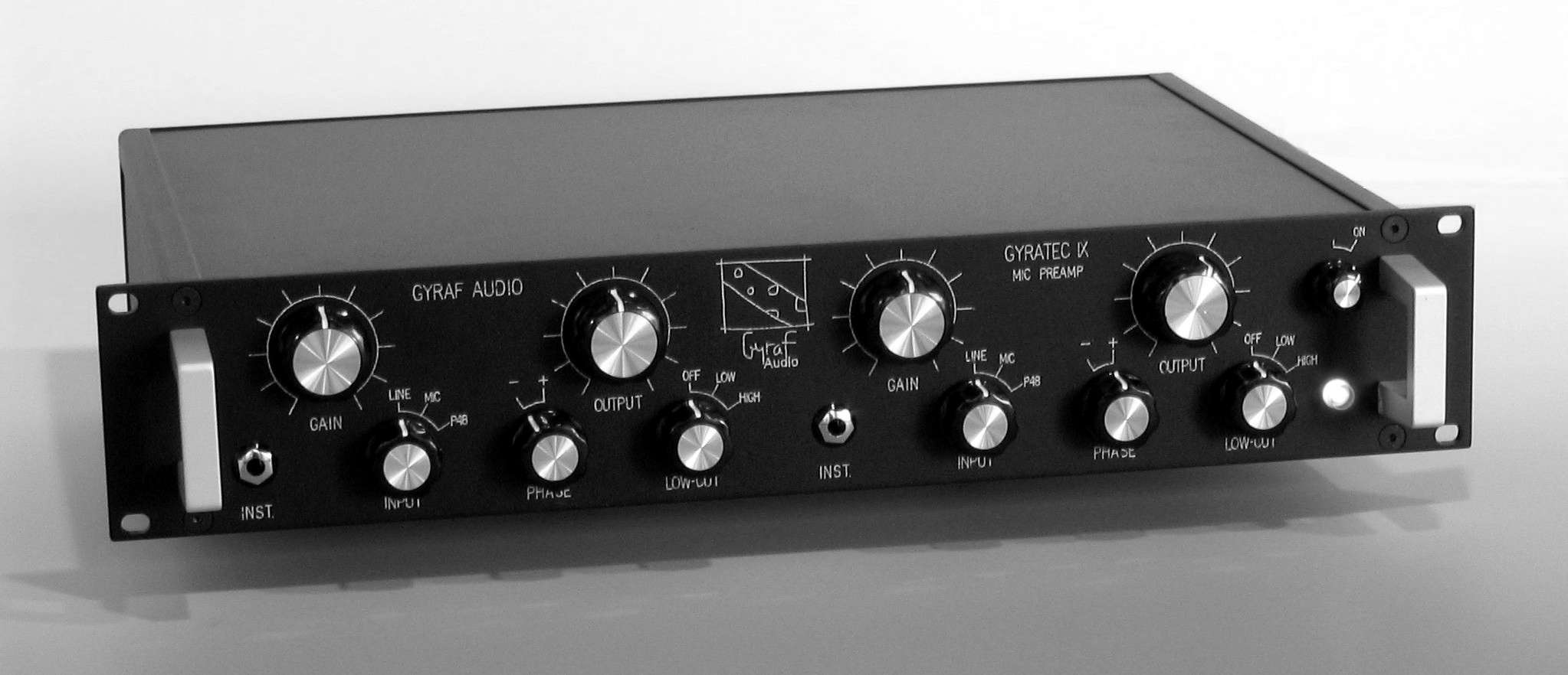Gyratec G9 Dual Microphone Preamp Gyraf Audio Preamplifier With Tlc251